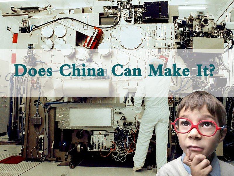 Can China make lithography machines by themselves?