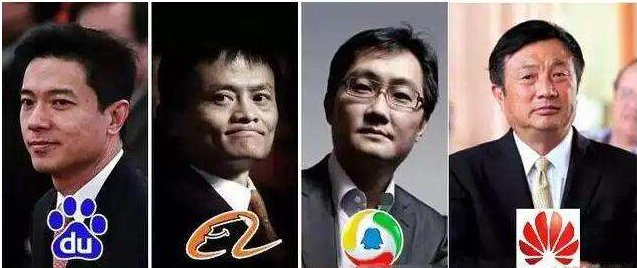 The 4 famous man in China