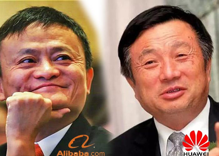 Alibaba, not as great as Huawei?