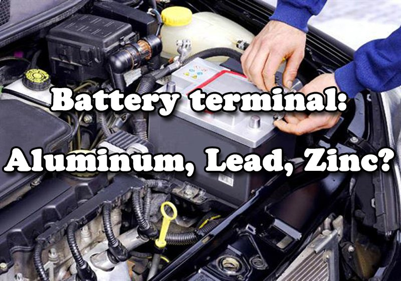 Can we use aluminum material battery terminals for cars?